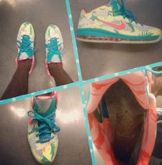 "Nike LeBron 9 Low ""LeBronold Palmer"". Oh my... these are sooo crazy!!!"