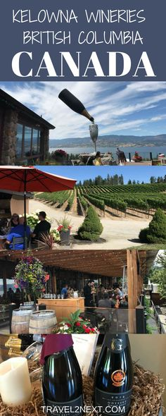 8 Kelowna Wineries in British Columbia's Okanagan Valley. You might be surprised to learn that Briti New Travel, Canada Travel, Canada Canada, Canada Trip, Visit Canada, Beach Travel, Winter Travel, British Columbia, Columbia Travel