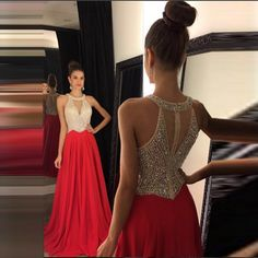 Find More Evening Dresses Information about Elegant Evening Dress With Crystal Beaded Evening Dresses Red Off Shoulder Robe De Soiree Long Formal Gowns A Line Evening Gown,High Quality dress sea,China dress sarees Suppliers, Cheap dresse from Charming Dress Factory on Aliexpress.com