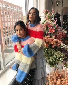 Ganni street style | Bianca Valle | The Julliard Mohair Pullover