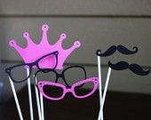 Crown princess photo booth props