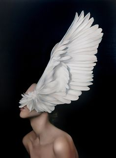 Amy Judd - Art - Peinture - Portrait - Animaux - Girls and birds Arte Peculiar, The Wicked The Divine, Art Occidental, Art Du Monde, Foto Fashion, 40s Fashion, Style Fashion, Realistic Paintings, Modern Paintings
