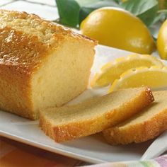 Recipes, Dinner Ideas, Healthy Recipes & Food Guide: Old-Fashioned Lemon Bread