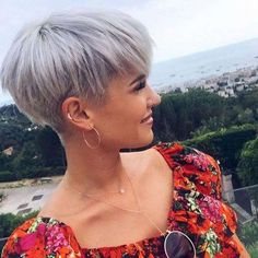 Tapered Bowl Cut For Women - Short Haircuts For Women - Short Haircuts For Women, Short Hairstyles, Haircuts For Fine Hair, Short Pixie Haircuts, Short Hairstyles For Women, Hairstyles Haircuts, Layered Hairstyles, Short Hair With Layers, Short Hair Cuts For Women, Pin On, Silky Hair