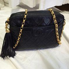 CHANEL Bags - Chanel Vintage Crossbody with Tassel Classic Handbags 929fed7062c