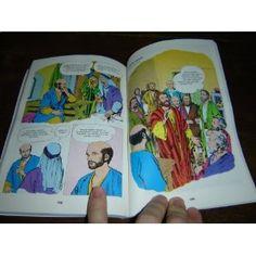 Slovak Children's Comic Book Bible - The Life of Jesus / Nova Zmuluva Obrazkova Biblia $25.99
