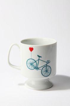 Bike Flared Mug #urbanoutfitters