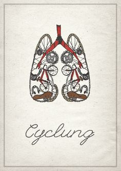 designingontea:    Cyclung - looking inward