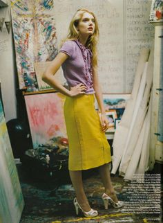 lily donaldon / vogue uk.