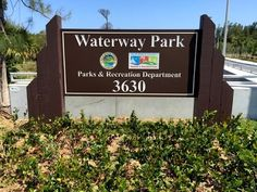Waterway Park is not officially open but you can check it out here