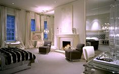 Geoffrey Bradfield | Luxury Interior Design | White Hall