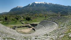 #Greece Epirus Theatre of Dodona. Visit http://www.svetputovanja.info/epirus-poziva-srpske-turiste/ for more photos from Epirus