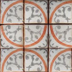Mediterranean 25- terracota tile- Tabarka Studio