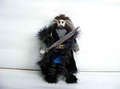 Thorin Oakenshield crochet doll handmade Tolkien The by AmayArt
