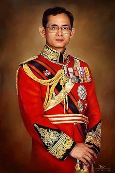King Phumipol, King Rama 9, King Of Kings, King Queen, King Thailand, Thai Princess, King Painting, Queen Sirikit, Bhumibol Adulyadej