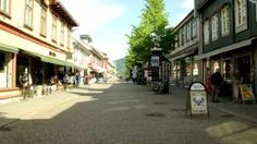 A 200 meter long hyperlapse driving through a shopping street. The journey took four hours to complete, and the exposure time was 4 seconds per frame. Highland Games, Exposure Time, Shopping Street, Norway, Street View, Journey, Photo And Video, Youtube, Fun