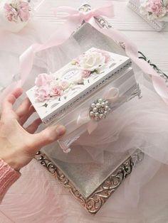 Ring Box for Wedding Ceremony Elegant Personalized Wood Ring Bearer Box Custom Ring Box Pink Wedding Decor Wood Card Box Wedding Luxury Wedding Gift Boxes, Wedding Ring Box, Wedding Ceremony, Neutral Wedding Decor, Pink Wedding Decorations, Shabby Boxes, Wood Card Box, Jewelry Box Makeover, Ring Bearer Box