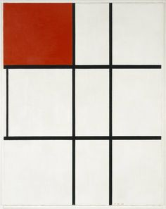 composition b (no.ii) with red by piet mondrian, 1935. permanent collection of tate, london. / rubenista | via scandinavian collectors