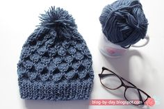 Weaving Patterns, Crochet, Knitted Hats, Winter Hats, Knitting, Day, Handmade, Diagonal, Rosa Pink