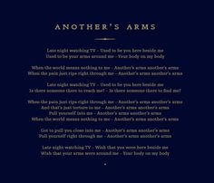 42 day Coldplay Challenge - Day 2: the song that has the most plays on your iPod - Another's Arms
