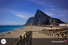 Visit Gibraltar and you'll find a big dollop of English traditions mixed with sunshine, tapas snack bars and ethnic restaurants and shops. They're all sprinkled round an immense rock almost surrounded by the sea.    http://www.britishairways.com/travel/gibraltar/public/en_gb