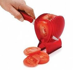 1 PCS Tomato Holder Slicer Guide Potato/Onion Fruit Vegetable Cutter Tools Kitchen Cooking Gadgets Accessories 2016 New Arrival Smart Kitchen, New Kitchen Gadgets, Home Gadgets, Gadgets And Gizmos, Cooking Gadgets, Cooking Tools, Kitchen Items, Kitchen Utensils, Kitchen Tools