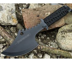 "11.5"" SURVIVAL TOMAHAWK TACTICAL THROWING AXE + SHEATH BATTLE Hatchet Knife Hawk"