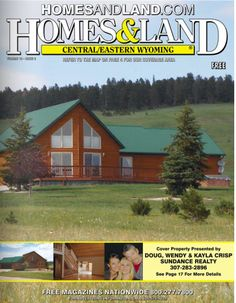 Click the Cover Image to view the online magazine from Homes & Land of Wyoming, WY, #HomesForSale, #Magazine, #Homes, #HomesAndLand www.HOMESandLAND.com
