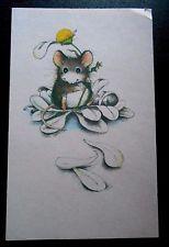 Workshop (Pawprints)Greeting Card MOON MOUSE Mice LOVE YOU Cyndy Szekeres