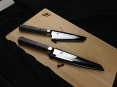 The Shun Blue line made with high carbon steel and designed by Shun with Chris Cosentino @offalchris