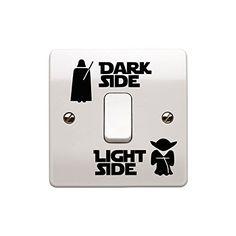 Vinilo adhesivo para interruptor de pared Star Wars