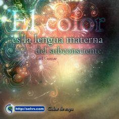 El color es la lengua materna del subconsciente. Carl Gustav Jung. http://selvv.com/color-de-ropa