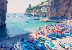 La Dolce Vita - Praiano, Italy by Gray Malin #travel #beach