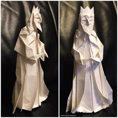 Study: Nativity - Magi. by Joseph Wu Origami
