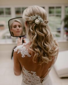 stunning wedding hairstyles that a girl needs - Page 29 of 44 - myflyinghair .com - stunning wedding hairstyles that a girl needs – Page 29 of 44 – myflyinghair .com stunning wedding hairstyles that a girl needs – Page 29 of 44 – myflyinghair . Curly Hair Styles, Short Hair Updo, Wedding Hairstyles For Long Hair, Down Hairstyles, Medium Hair Styles, School Hairstyles, Girl Hairstyles, Easy Hairstyles, Choppy Hairstyles