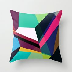 Vector+No+4+Throw+Pillow+by+House+Of+Jennifer+-+$20.00