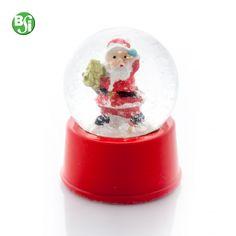 Globo di neve con Babbo Natale, base di plastica.  #chrtistmas #gift #babbonatale #snow #gadget #natale #gadgetpersonalizzato #bsigadget
