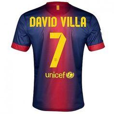 David Villa del Barcelona 2012/13 Camiseta fútbol online [875] - €16.87 : Camisetas de futbol baratas online!  http://www.8minzk.com/f/Camisetasdefutbol/