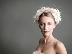 Bridal Headpieces by Hatmaker Jonathan Howard, 2008 Collection #BridalHeadpiece #JonathanHoward #BridalMillinery