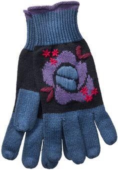 Gudrun Sjödéns Winterkollektion 2014 - Fingerhandschuhe Rosali aus Öko-Bamwolle/Wolle