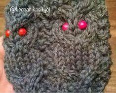 Leenan käsityöt: Pöllösukat ja ohje Drops Design, Knitting Socks, Mittens, Knitting Patterns, Slippers, Crochet Hats, Sewing, Crafts, Handmade