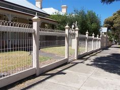 I really like the white color of this heritage fencing. My husband and I are remodeling our front yard before we sell our house, so we are looking for the best products to use. We will be sure to find some heritage fencing this same shade so that it will match our house.