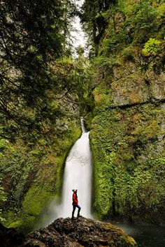 Wahclella Falls, Columbia River Gorge, Oregon Waterfalls + The Ultimate Oregon Bucket List // Local Adventurer #oregon #traveloregon #localadventurer #pnw #pacificnorthwest #usa