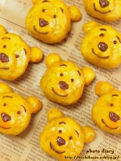 Winnie-the-Pooh | sweet potato tarts