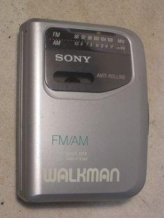 Sony Walkman WM-FX141 tape cassette player Radio FM AM  #Sony