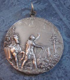 The medal's other side.