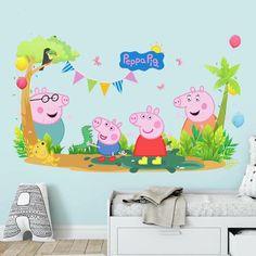 peppa pig decals thetreasurethrift decal interior rooms walls