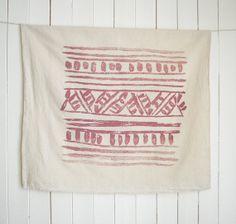 Mai Tea Towel / Cotton by untoldimprint on Etsy, $18.00