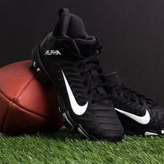 Boys Black Nike Alpha Menace Shark BG2 Football Cleats Boys Football Cleats, Rogan's Shoes, Air Max Sneakers, Sneakers Nike, Latest Shoes, Best Brand, Black Nikes, Shark, Nike Air Max