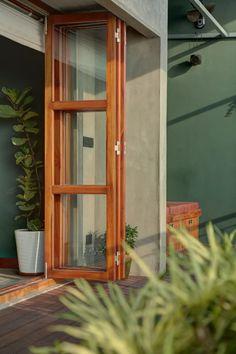 Indian Window Design, Indian Home Design, Home Room Design, House Design, Hanging Pots, Kochi, Architectural Digest, Door Design, Decoration